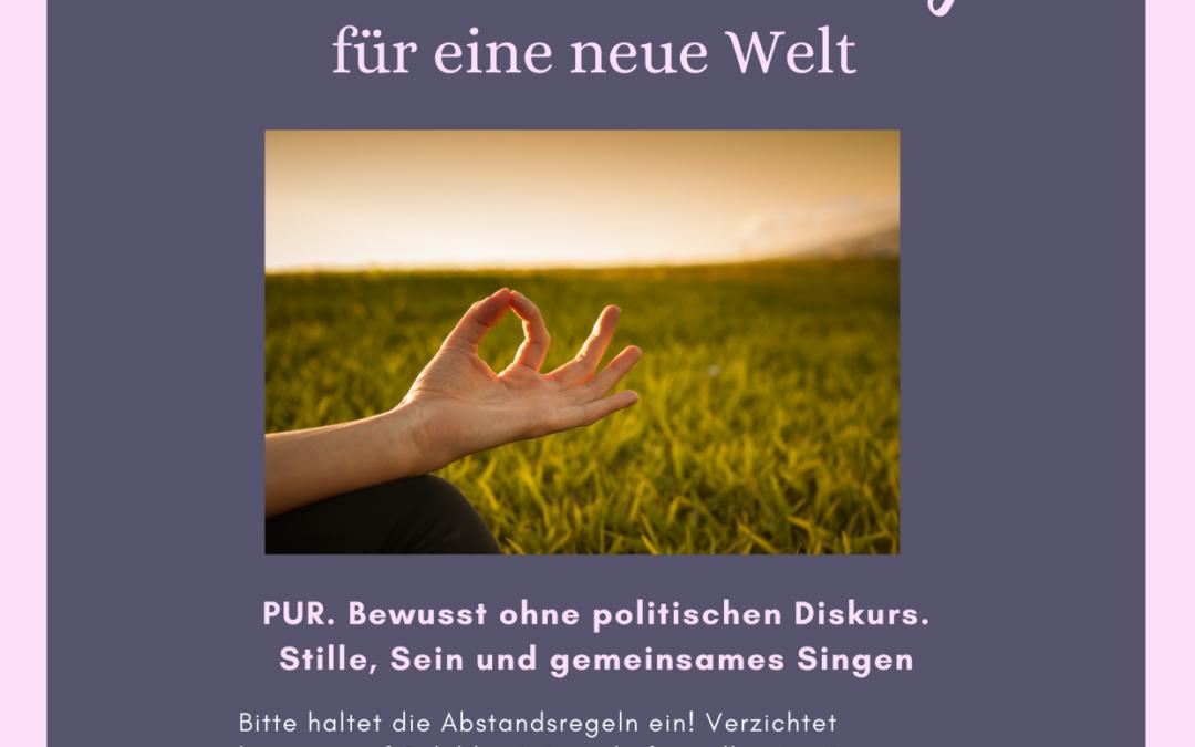 Köln wacht auf - Friedensmeditation zu Pfingsten - Flyer